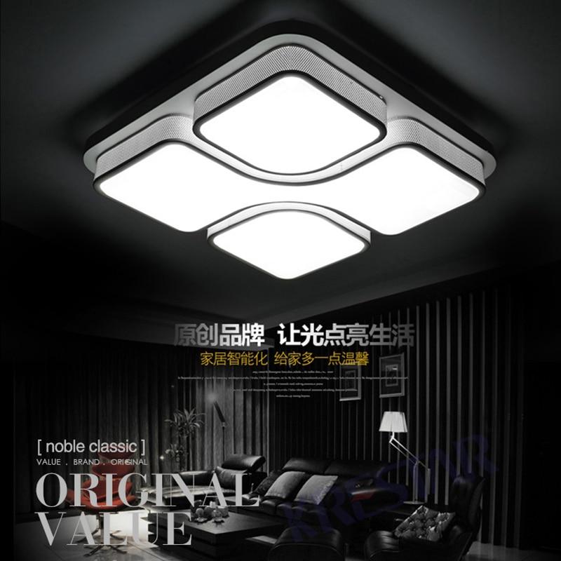 Nowoczesne Lampy Sufitowe Led Do Salonu Sypialnia Lamparas De Techo