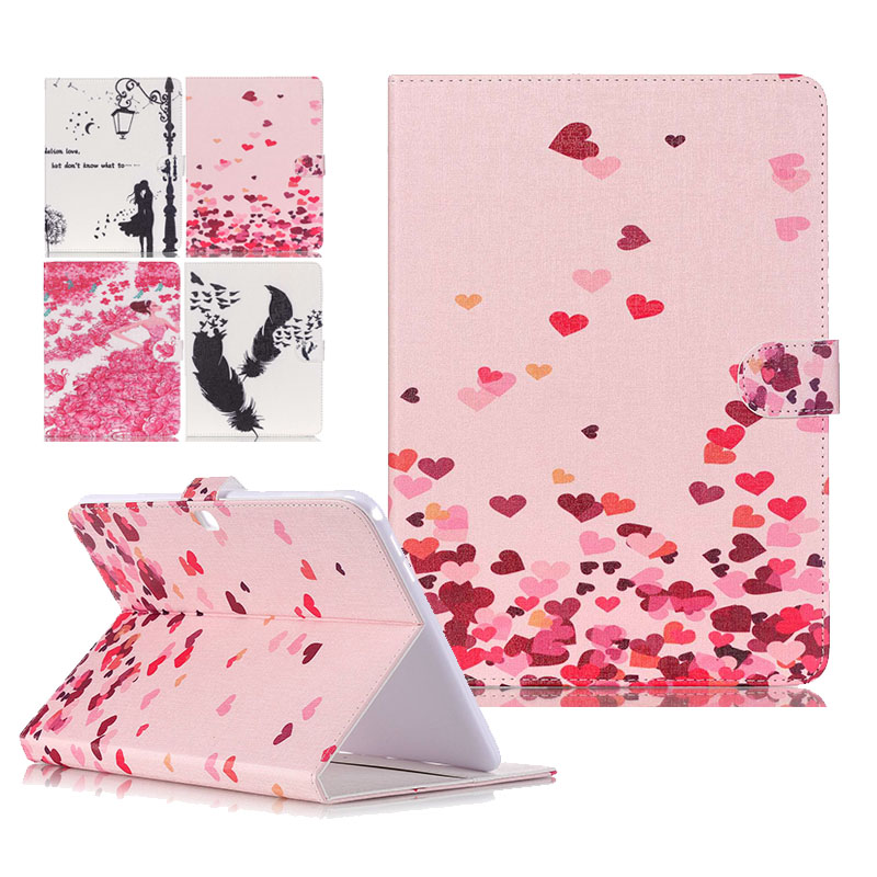 New Leather Protective Case cover For Samsung Galaxy Tab 4 10.1 Case For Samsung Galaxy Tab 4 T530 T531 T535 Tablet bags pu leather tablet case cover for samsung galaxy tab 4 10 1 sm t531 t530 t531 t535 luxury stand case protective shell 10 1 inch