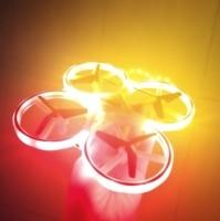 Funny Lighting Toys Gravity sensor remote Cool night LED mini drone glow in the dark kids toys rave dinosaurio fluorescent stars