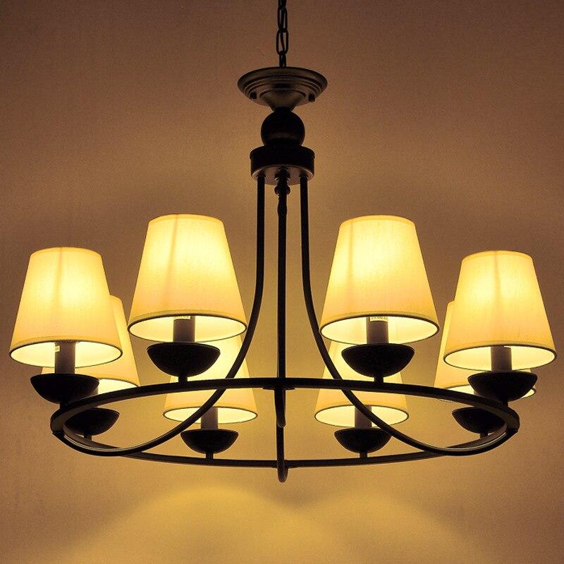 American Style Vintage Pendant Lights Black  Loft Retro Pendant Lamp E14 110V/220V Pendant Light Hanging Lamp Fixture WPL123