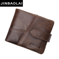 2017 Genuine Leather Wallet Top Quality New Arrival Men Wallets Luxury Dollar Price Vintage Male Purse