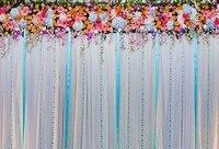 Цветы фото фон винил и полиэстер фотографии фонов компьютер Печатные фонов для фотографии Studio G-190