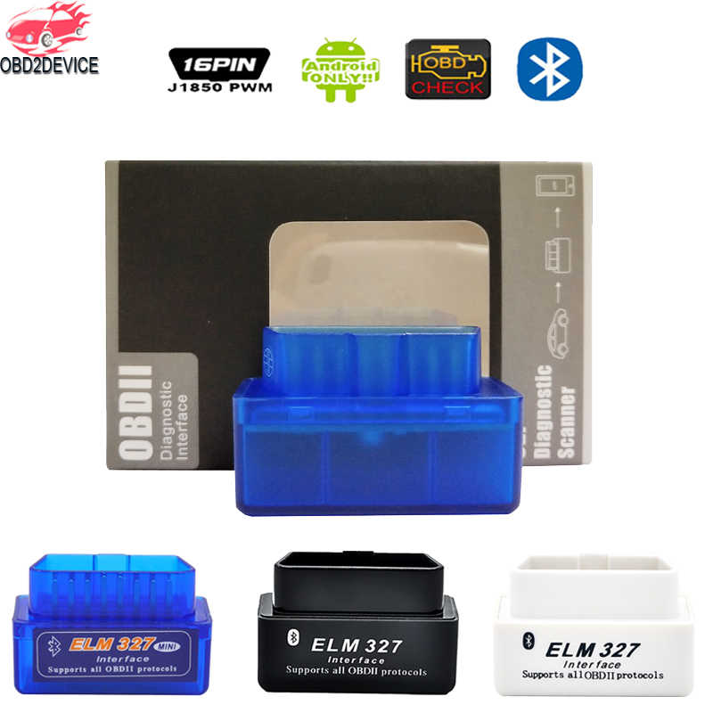 Super ELM327 V2.1 MINI ELM327 Bluetooth Adapter OBD2 elm327 Auto Diagnostic Interface ELM 327 OBDII Car Code Reader Check Engine