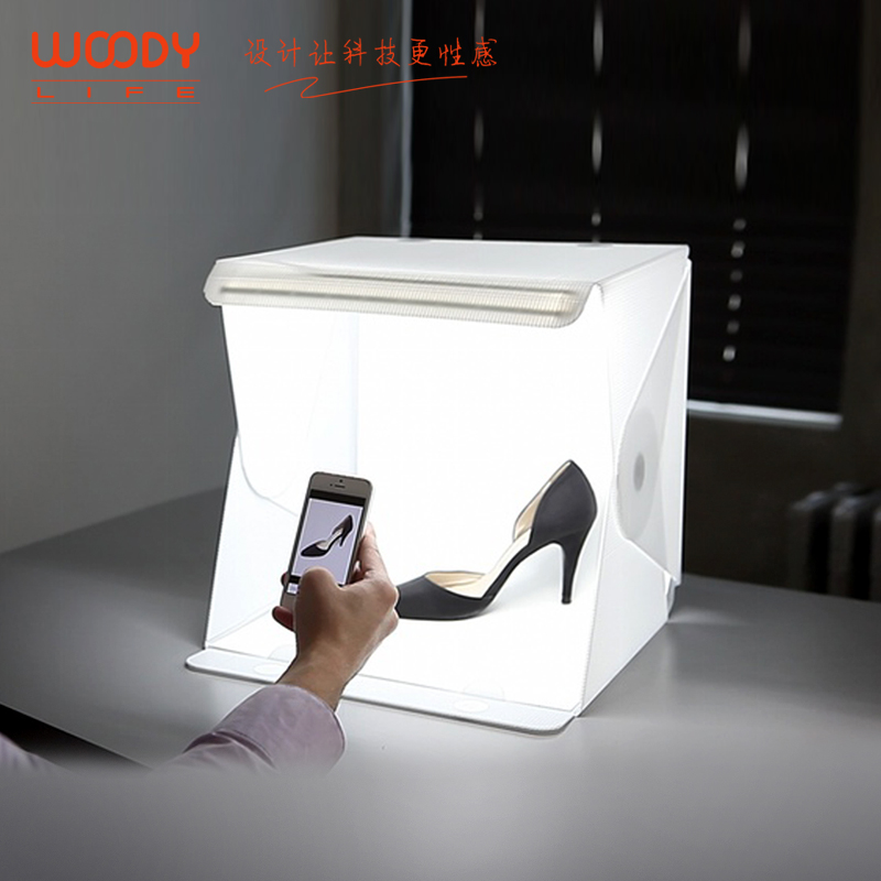 ФОТО Jian Yi studio Softboxes, LED shooting mini camera box