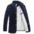E-artista de Veludo dos homens Duck Down Casacos Casacos Slim Fit Negócios Casual Masculino Parkas Outwear Casaco para o Inverno Plus Size 5XL Y42