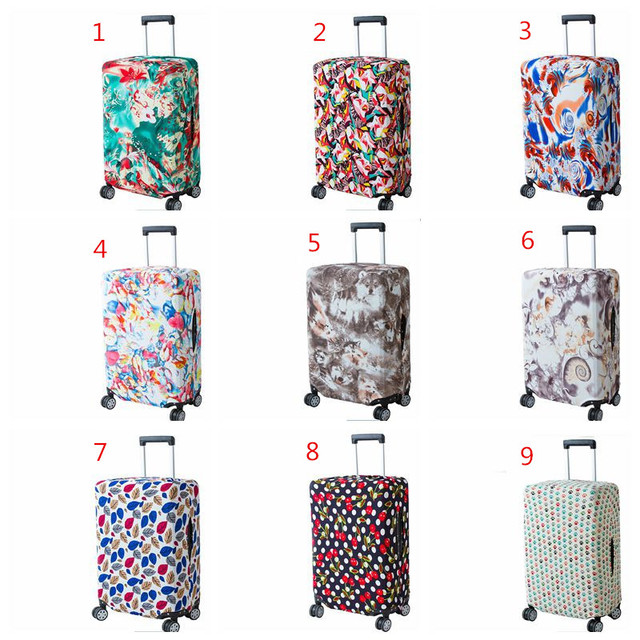 Travel Luggage Luggage Fashion Cover – Suitcase Protect Dust Bag Case