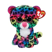 Ty Beanie Boos Stuffed Plush Animals Colorful Leopard Doll Toys For Children With Tag 6 15cm