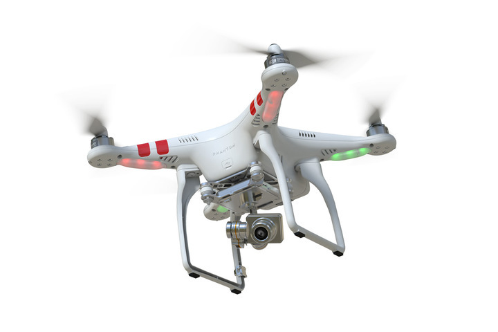 New DJI Phantom 2 Vision+ FPV flying camera remote control RC ...