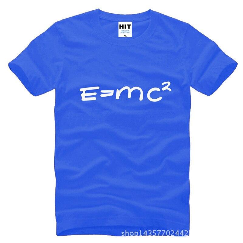 Big Bang theory of evolution Einstein mass energy equation E = mc ^ 2 Printed Mens Men T Shirt T-Shirt 2015 Cotton Tshirt Tee