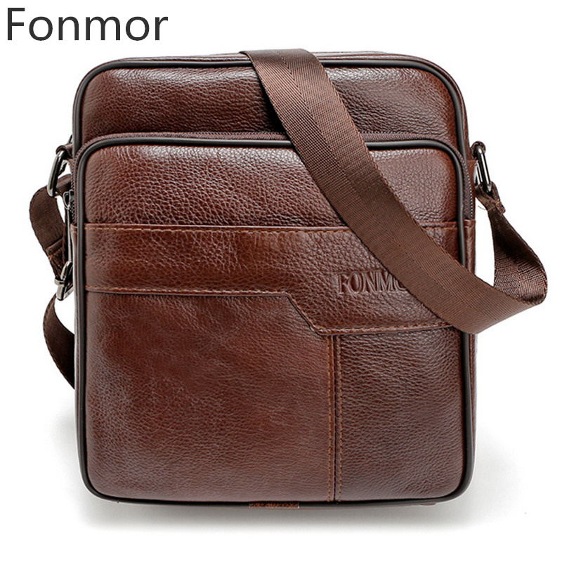 New Brand Men Messenger Bag Fashion Handbags Genuine Leather Male Bag Top Quality Shoulder Bag Casual Zipper Office Bag Black 2015 new korean men s messenger bag brand shoulder bag fashion crossbody bag handbags for male free shipping