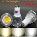 10XSuper Bright GU10 Bulb Light Dimmable Led Ceiling light Warm/White 220V 9W 12W 15W GU10 COB LED lamp light GU10 led Spotlight