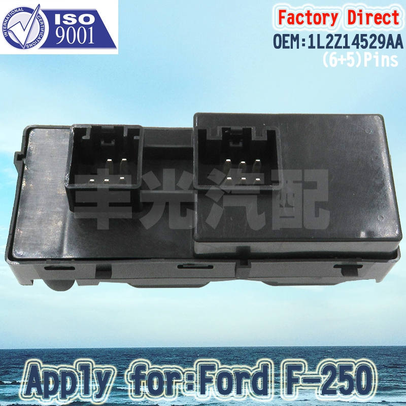 NEW MASTER POWER WINDOW SWITCH  FRONT DRIVER SIDE FOR FORD MERCURY 1L2Z14529BA