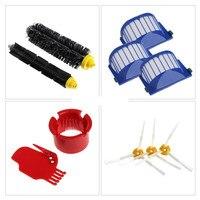 Replacement Brush Vacuum Filter Part Kit For IRobot Roomba 600 610 611 627 620 630 650