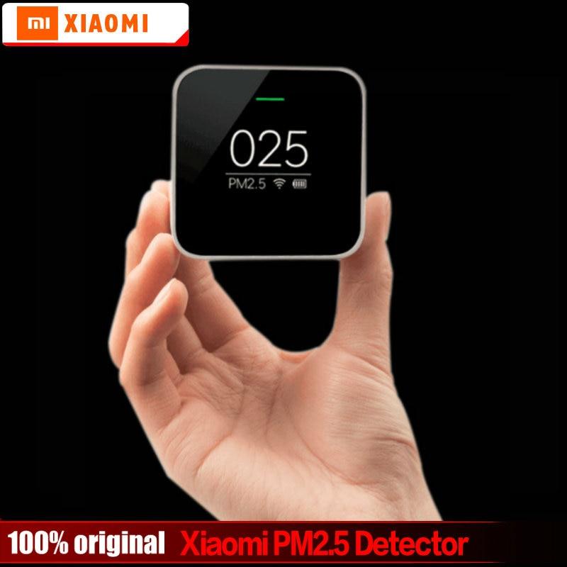 Original Xiaomi Mijia PM2.5 Detektor Luftqualität Tester Oled-bildschirm Luftreiniger Hochpräzise Laser Sensor Smart Control APP