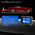 Car Parking Assist System Double Line LED Digital Display Radar Alert System with 8 Sensors Buit-in Buzzer