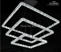 Hot Selling 2014 The Newest Three Sides Of The Crystal Pendant Light Raimond Square Crystal Chandelier