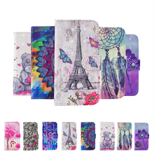 For Huawei Mate 10 Lite Case 3D Painting Flip Case For Mate 20 Lite Cover PU Wallet Leather Case Color pattern Protective Cover lichee pattern protective pu leather flip open case for asus 172v brown