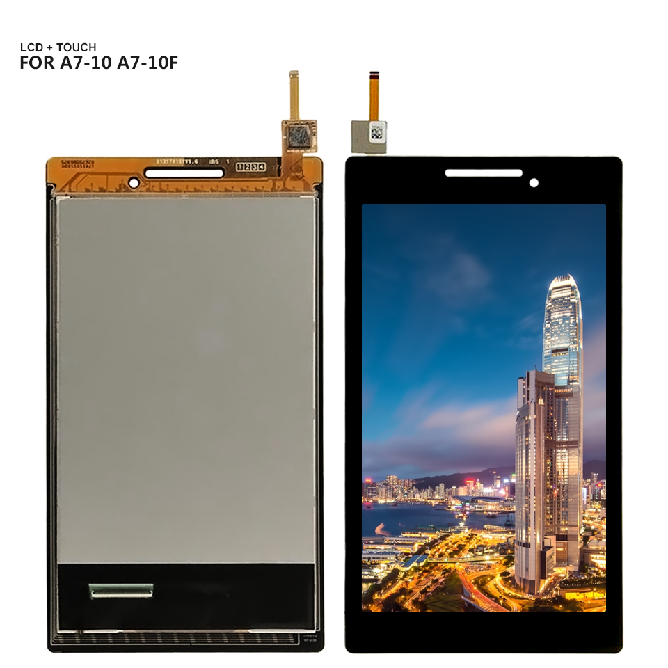 Good Quality LCD Display With Touch Screen Digitizer Glass Sensor Assembly For Lenovo Tab 2 A7-10 A7-20 A7-20F