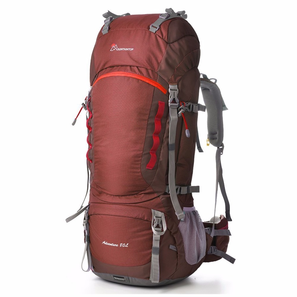 2017 New Arrival Large-Capacity Long-Haul Backpacks Professional Climbing Bags 70+10L Quality Outdoor Sport Mountaineering Bags