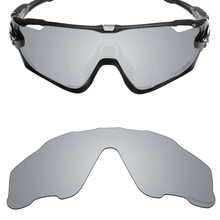 8edc774fe7 Mryok+ POLARIZED Resist SeaWater Replacement Lenses for Oakley Jawbreaker  Sunglasses Silver Titanium