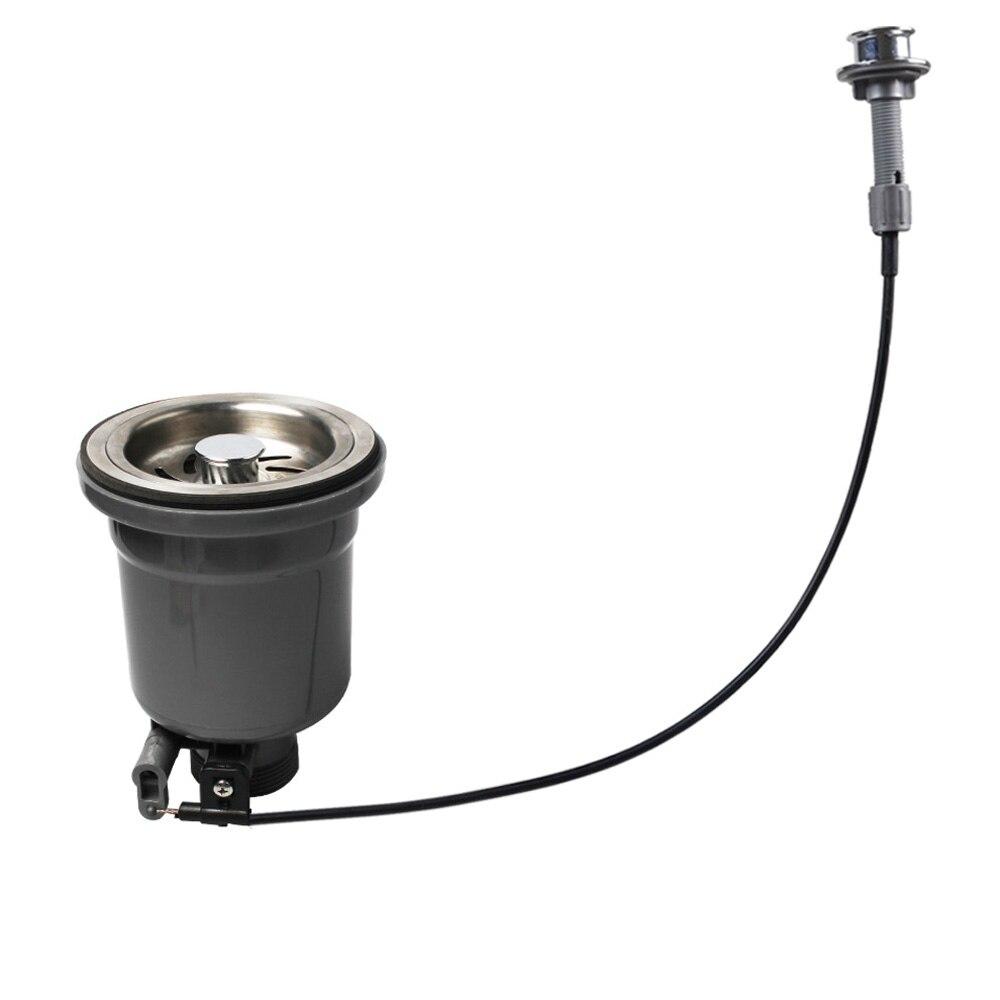 Talea 110mm/114mm/140mm bride vidange évier bassin table câble contrôleur crépine bouchon pour canalisation filtre broyeur XK217C006