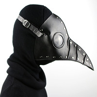 Black Halloween Costume Ideas Party Horror Nights Halloween Horror Bird S Mouth Ball Mask Cosplay Costume