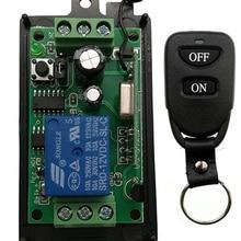 DC 9 V 12 V 24 V 1 CH 1 канал 1CH Беспроводной RF пульт дистанционного управления выключатель света 10A релейный выход радио приемник модуль+ передатчик