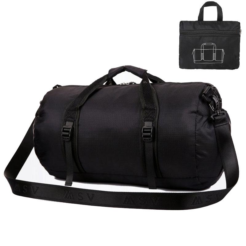 Αθλητική τσάντα για τις γυναίκες Γυμναστήριο πολλαπλών λειτουργιών ώμου / Messenger τσάντα / τσάντα πτυσσόμενα Travel Duffle πακέτο αδιάβροχο τσάντα γυμναστήριο Men