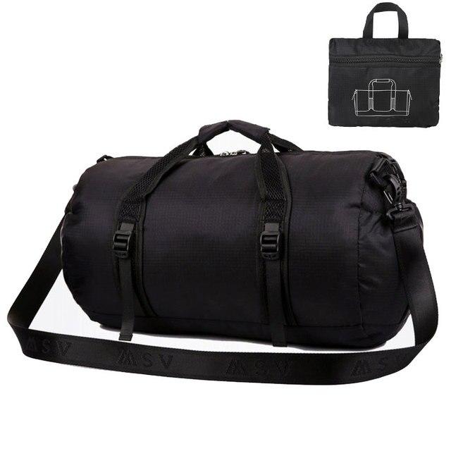 Sport Bag For Women Fitness Multifunction Shoulder Messenger Bag Handbag  Foldable Travel Duffle Package 61993a03cb
