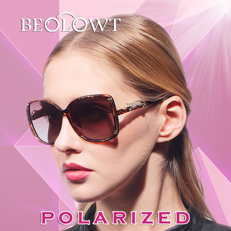 Beolowt marca individualidade liga de moda óculos de sol polaroid mulheres  óculos polarizados condução óculos de sol óculos de sol para as mulheres  bl303 b6065306d3