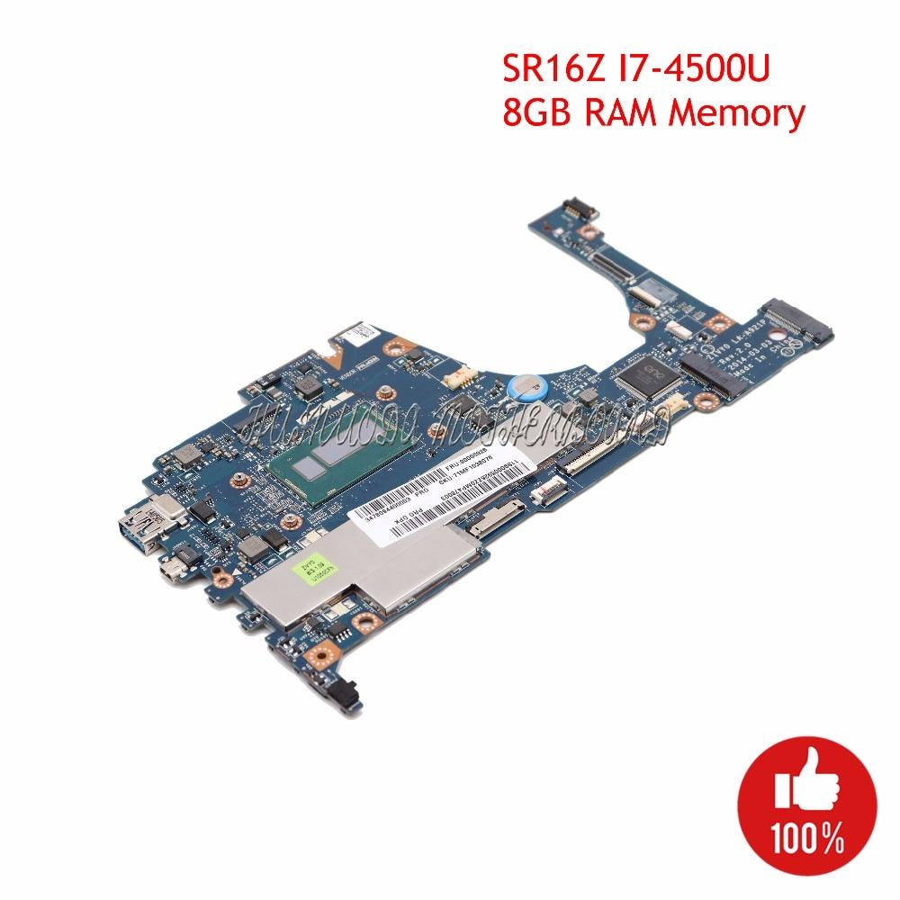 NOKOTION ZIVY0 LA A921P laptop motherboard for lenovo yoga 2 13 13 3 SR16Z I7 4500U