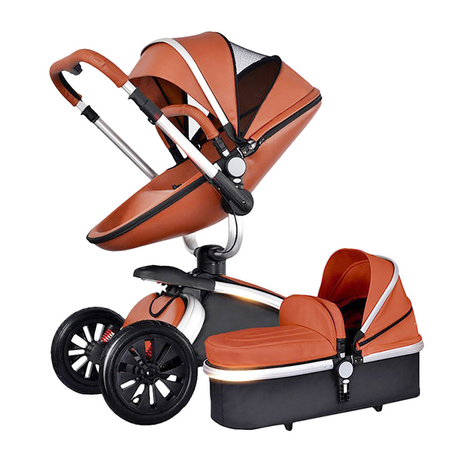 2 in 1/3 in 1 Baby stroller With Car Seat High Landscope Folding Baby Carriage For Child From 0-3 Years Prams For Newborns 4