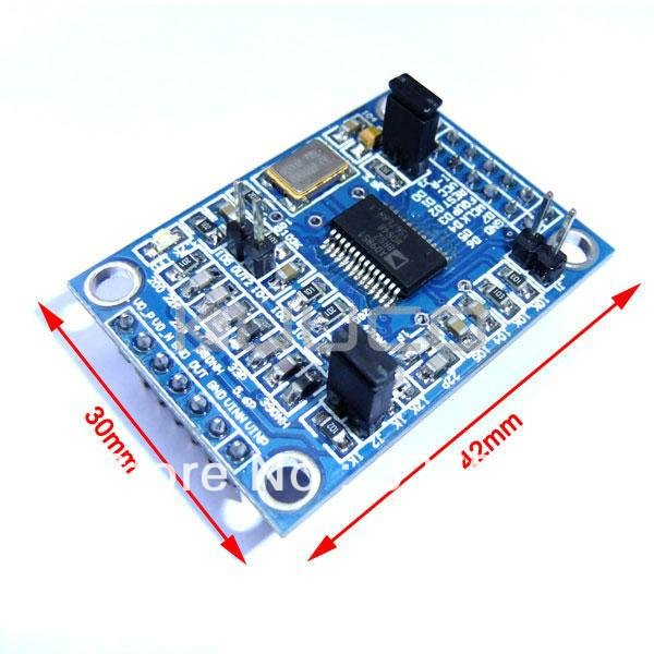 AD9851 DDS Signal Generator Module with Circuit Diagram
