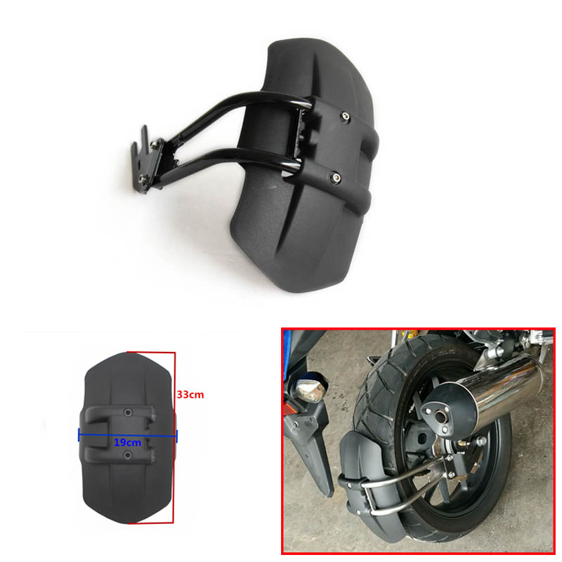 For KAWASAKI Z250 Z300 Z750 Z800 KLR650 Rear fende CNC Aluminum Motorcycle Accessories rear fender bracket motorbike mudguard