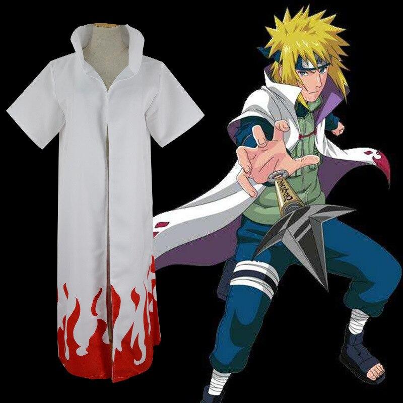 Traje de Anime caliente Naruto Yondaime cuarto Hokage namize ...