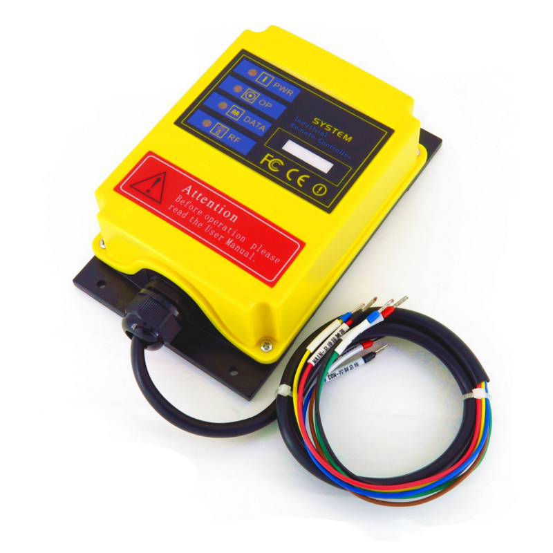 Radio Remote Control A4S AC110V industrial remote control hoist crane push button switch in Switches from Lights Lighting