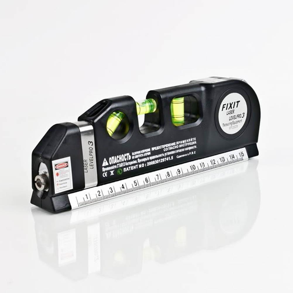 Multipurpose Level Laser Wire Infrared Horizon Vertical Measure Tape ...
