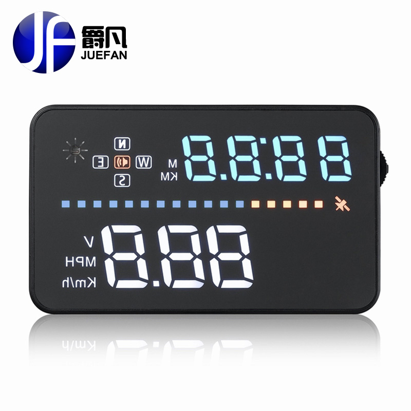 New A3 HUD diagnostic tool car Head Up Display Car Detector Speed Projector on Windshield HUD Display Car with GPS universal 3 5 car hud a3 head up display with obd2 interface