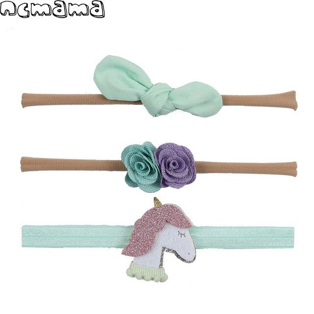 3 Pieces/Set Children's Headband Lace Floral