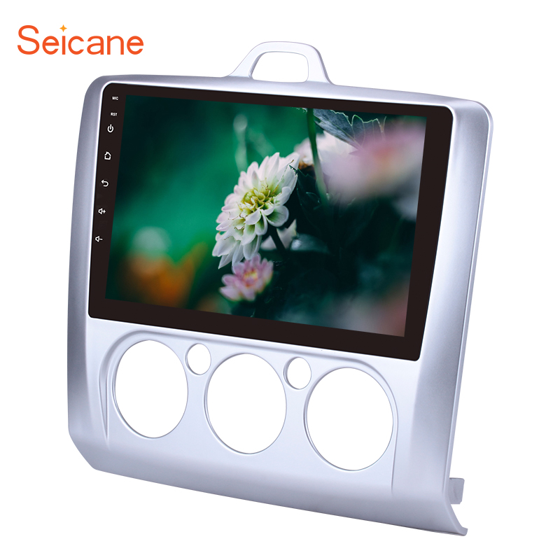 Seicane Android 8.1 9 2Din Car Radio For Ford Focus 2 Exi MT 2004 2005 2006 2008 2009 2010 2011 GPS Tochscreen Head Unit