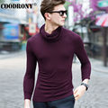 High Quality Winter New Warm Cashmere Sweaters Christmas Merino Wool Sweater Men Fashion Pure Color Turtleneck Pullover Men 6326