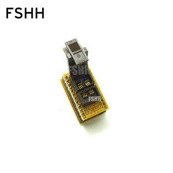 Adaptateur de programmeur SOT23-6 à DIP8 pour prise de test 93xx eeprom appliquer au programmeur CH2013/CH2015