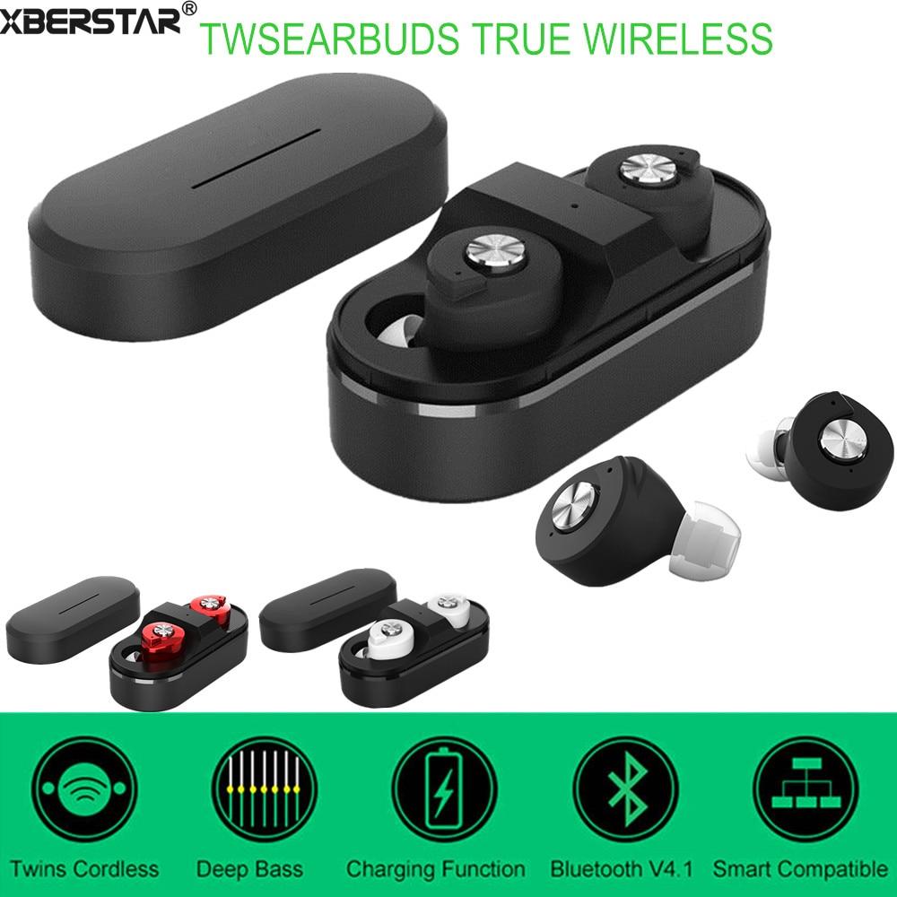 yuer t8 mini twins true wireless bluetooth 4 1 stereo headset in ear earphones earbuds. Black Bedroom Furniture Sets. Home Design Ideas