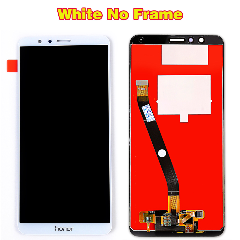 Huawei Honor 7X BND-L21 BND-L22 BND-L24 5.93 inch LCD display For Mate SE Touch Screen Digitizer Assembly Frame With Free Tools