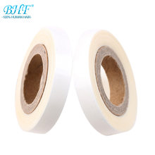 BHF 2 rolls tape Double Sided Adhesive strong Dedicated Professional Roll Tape For Tape Hair Extension/Toupee/Lace Wig(China)