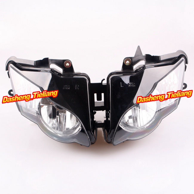 Motorcycle Front  Headlight for CBR 1000RR 2008 2009 2010 2011/ Black Motor Lighting CBR1000RR arashi motorcycle radiator grille protective cover grill guard protector for 2008 2009 2010 2011 honda cbr1000rr cbr 1000 rr