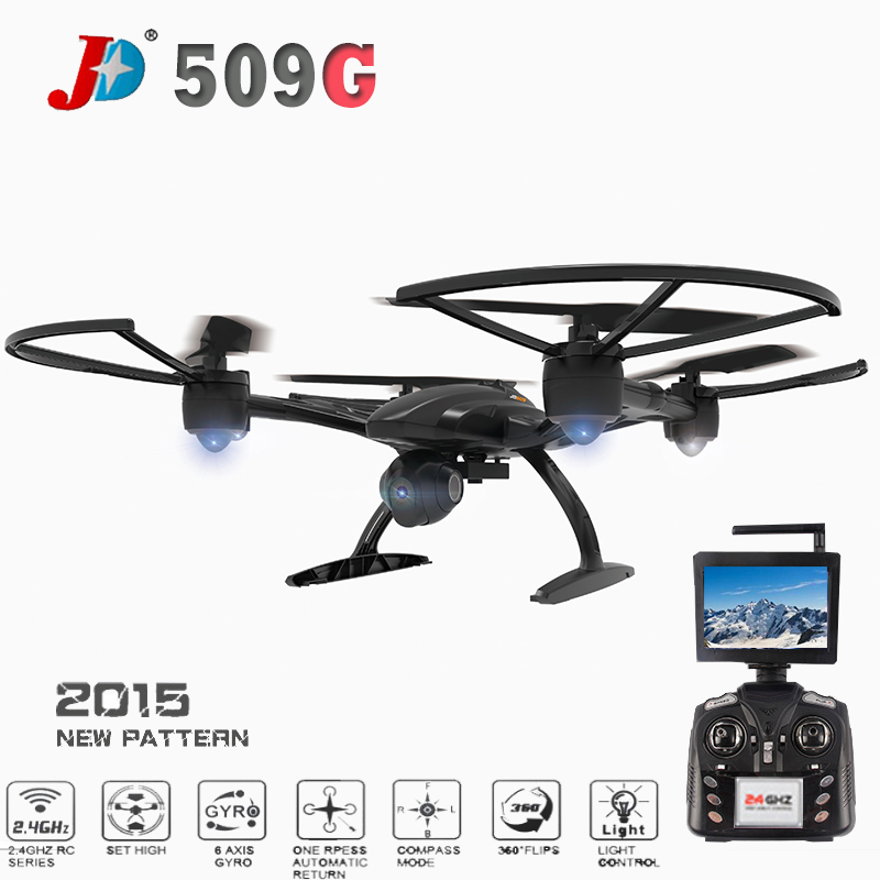 JXD 509G JXD509G 5.8G FPV With 2.0MP HD Camera High Hold Mode RC Quadcopter RTF Free Shipping jxd 509 jxd 509g jxd509g 509w 509v quadcopter upper body shell cover