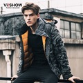 VIISHOW Brand Camouflage Winter Jacket Men Hooded Parka Coat Men Clothing mens winter warm jackets Oversize 5XL men's down coats
