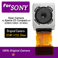 """Оригинал Задняя Камера Для Sony Xperia Z5 Compact E5803/E5823 4.6 """"подлинная Камера Заднего Вида для Z5 Мини-Руководство По Ремонту"""