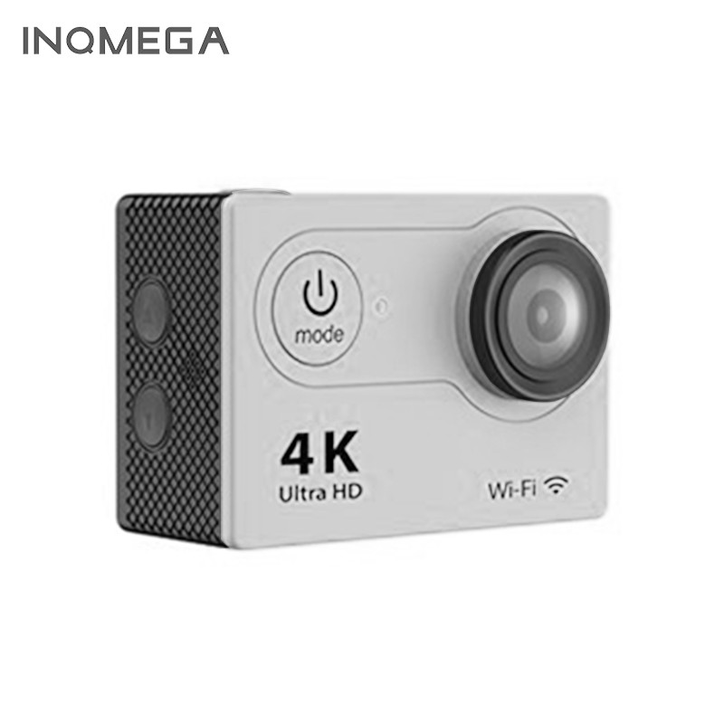INQMEGA NEW H9/H9R 4K wifi action camera HD 1080p waterproof mini cam pro bike video sports camera battery dual charger bag action camera eken h9 h9r 4k ultra hd sports cam 1080p 60fps 4 k 170d pro waterproof go remote camera